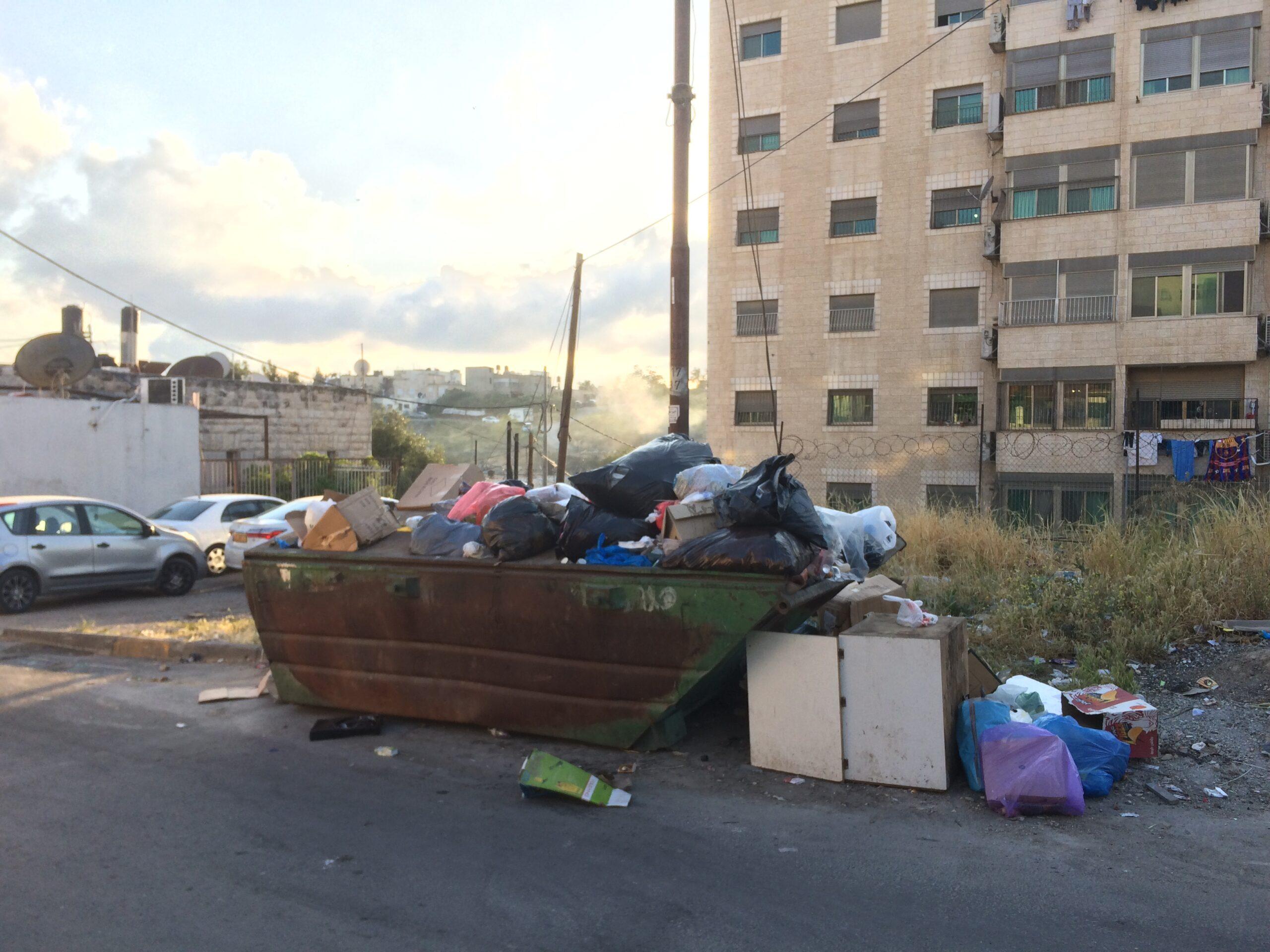 trash container jerusalem