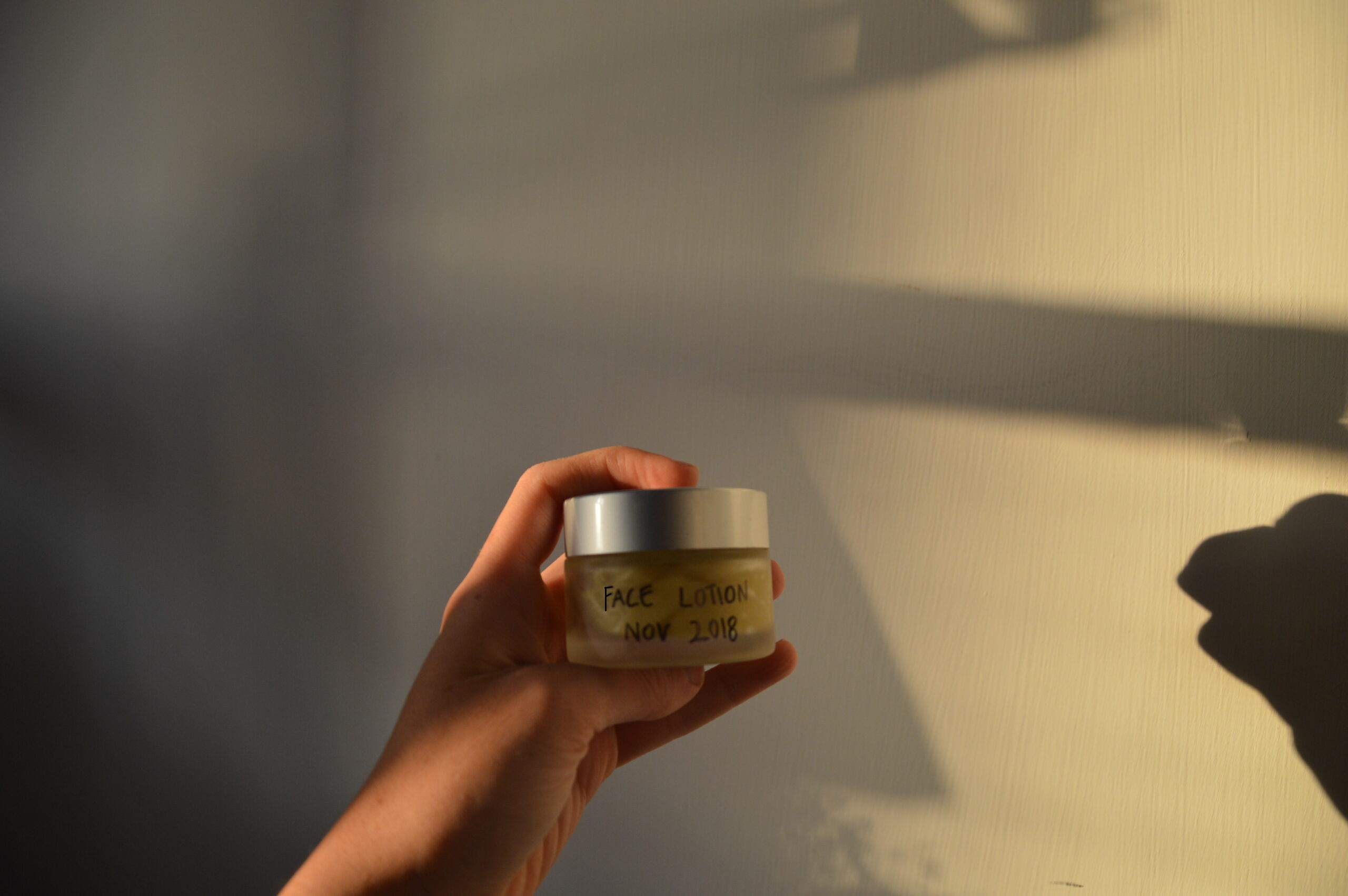 Plastic-Free Face Lotion